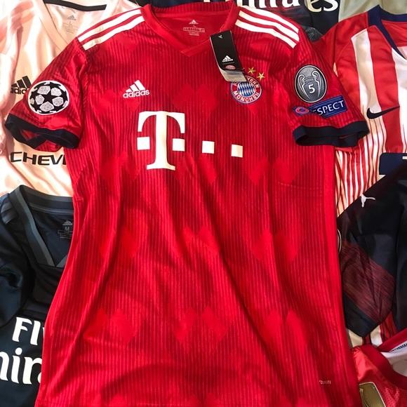 Adidas Other New 201819 Bayern Munich Champions League Jersey Poshmark
